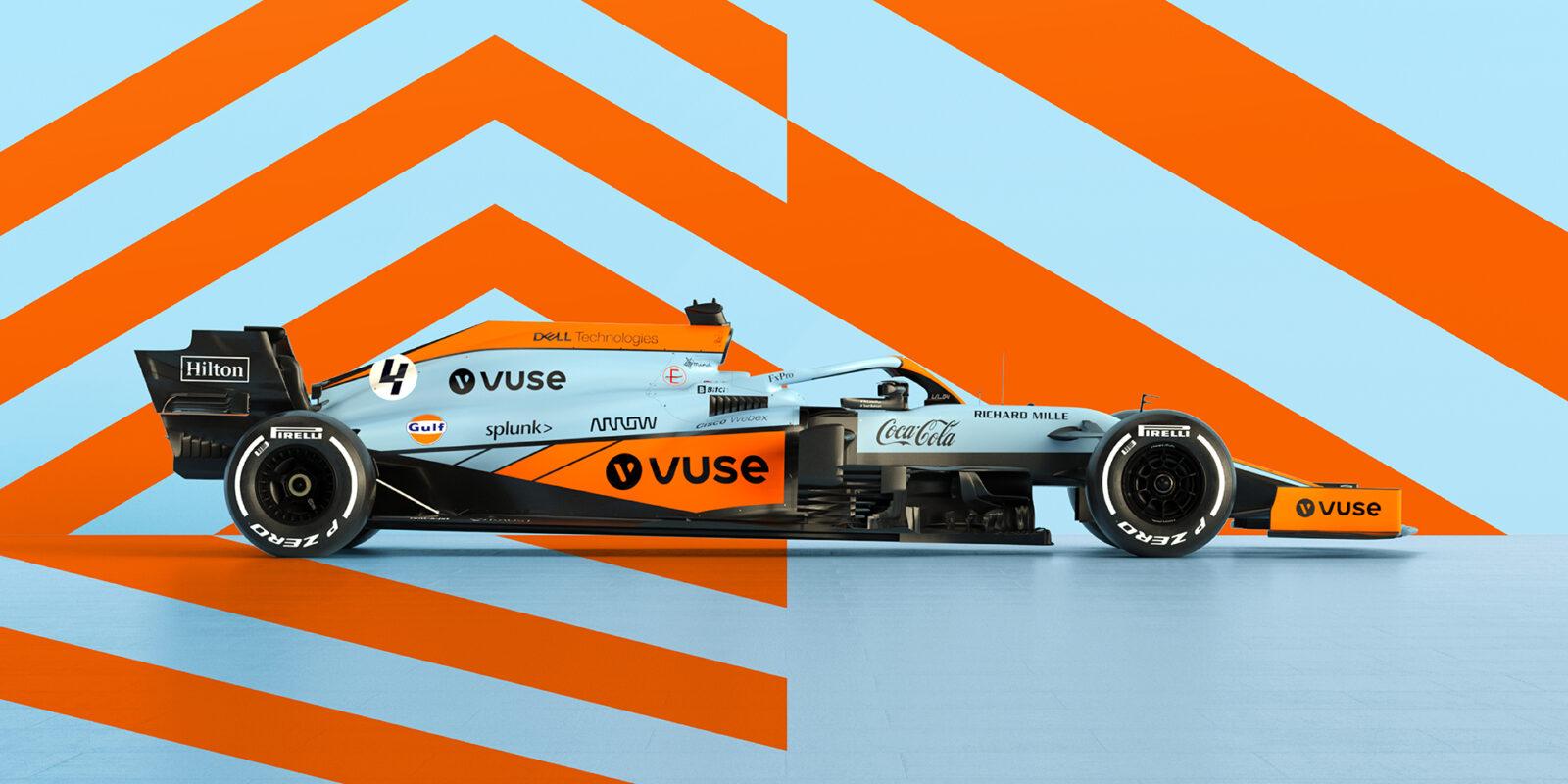 McLaren v novém kabátě pro Velkou cenu Monaka