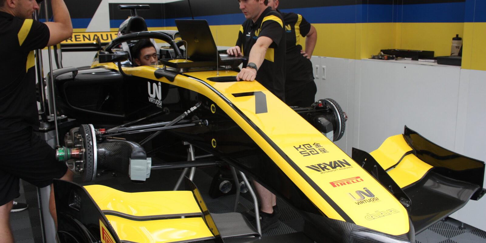 Monako: Čou vítězí v pátečním sprintu F2 z pole position
