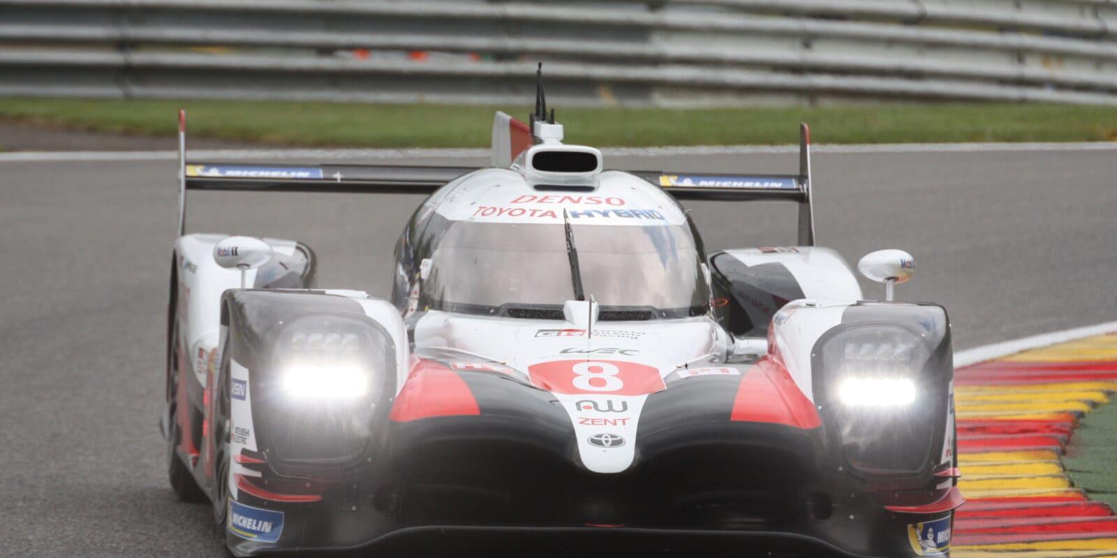 První podnik FIA-WEC ve Spa: Toyota de facto bez konkurence
