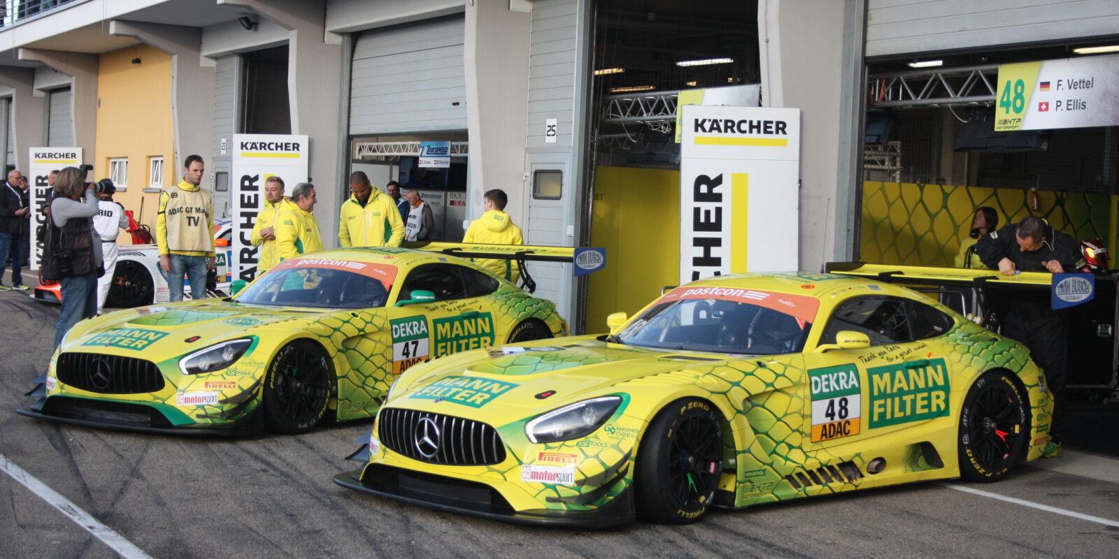 """Oschersleben: """"Žlutá Mamba"""" ovládla úvod sezóny GT Masters"""