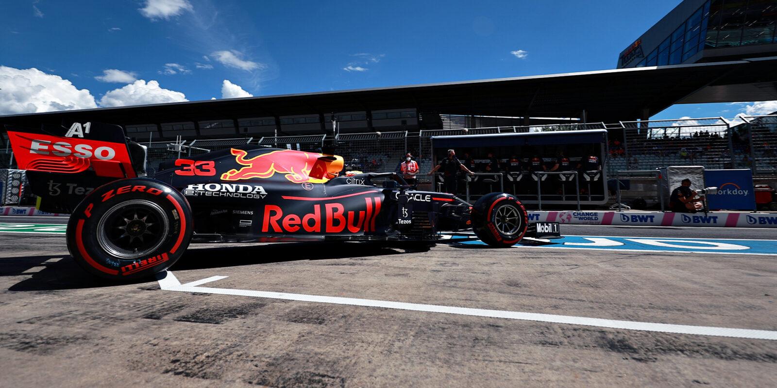 """Verstappen ovládl """"domácí"""" kvalifikaci, Hamilton chyboval"""