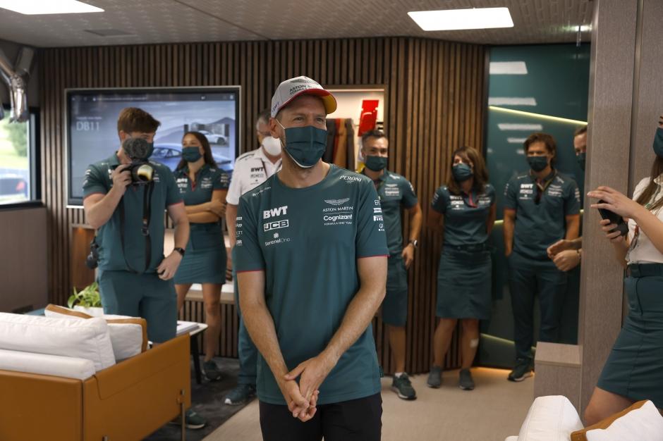 Szafnaur: Vettel je u nás šťastný, jede téměř na maximu