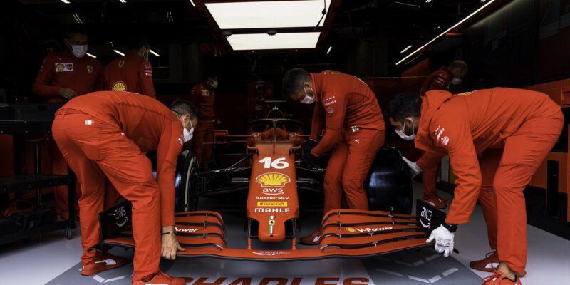 Leclerc dostane pro zbytek víkendu nové šasi