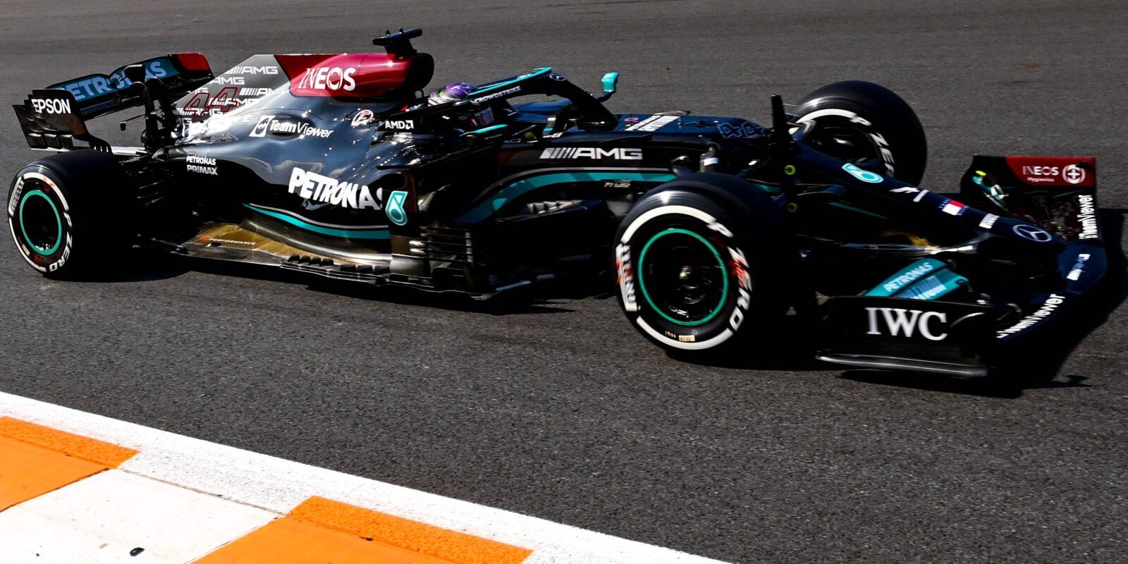 Premiérový první trénink v Zandvoortu opanoval Hamilton