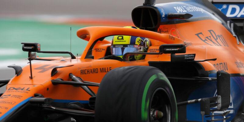 Norris dominoval v kvalifikaci a získal první pole position